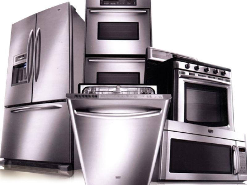 Appliance Dryer Garbage Disposal Refrigerator Oven